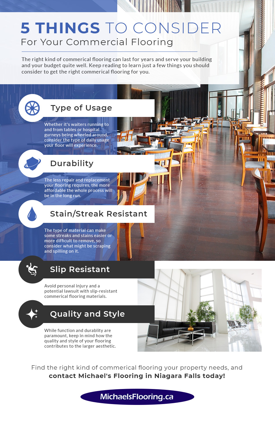 commercial flooring infographic